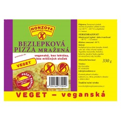 Pizza Veget - veganská 330g